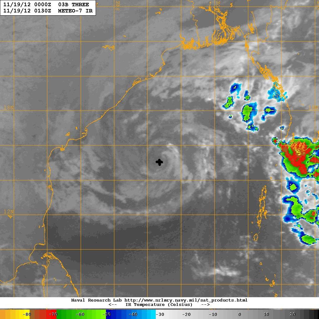 Bay of bengal weather satellite