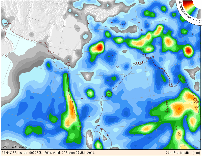 Southwest Monsoon Sets In Over Delhi Along With Most Parts